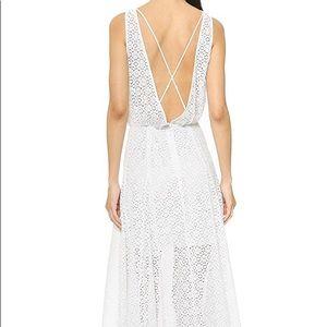 White Rebecca minkoff dress